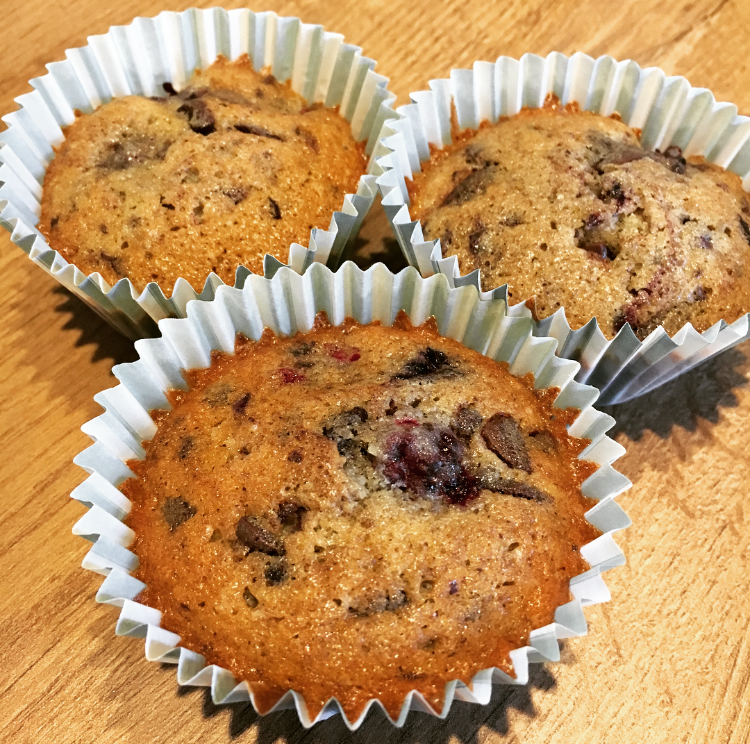 brombær muffins
