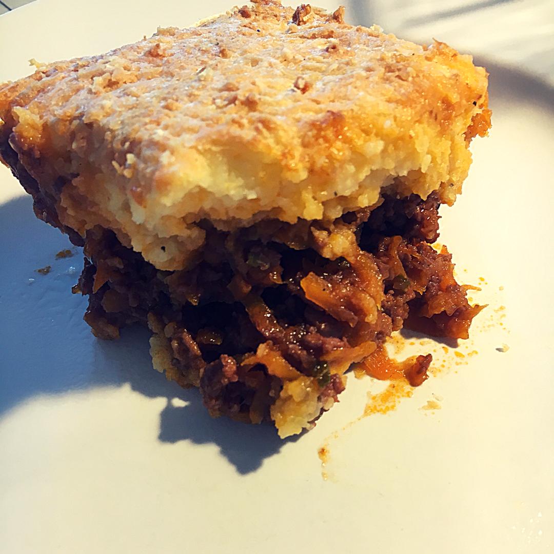 shepherds pie på tallerken