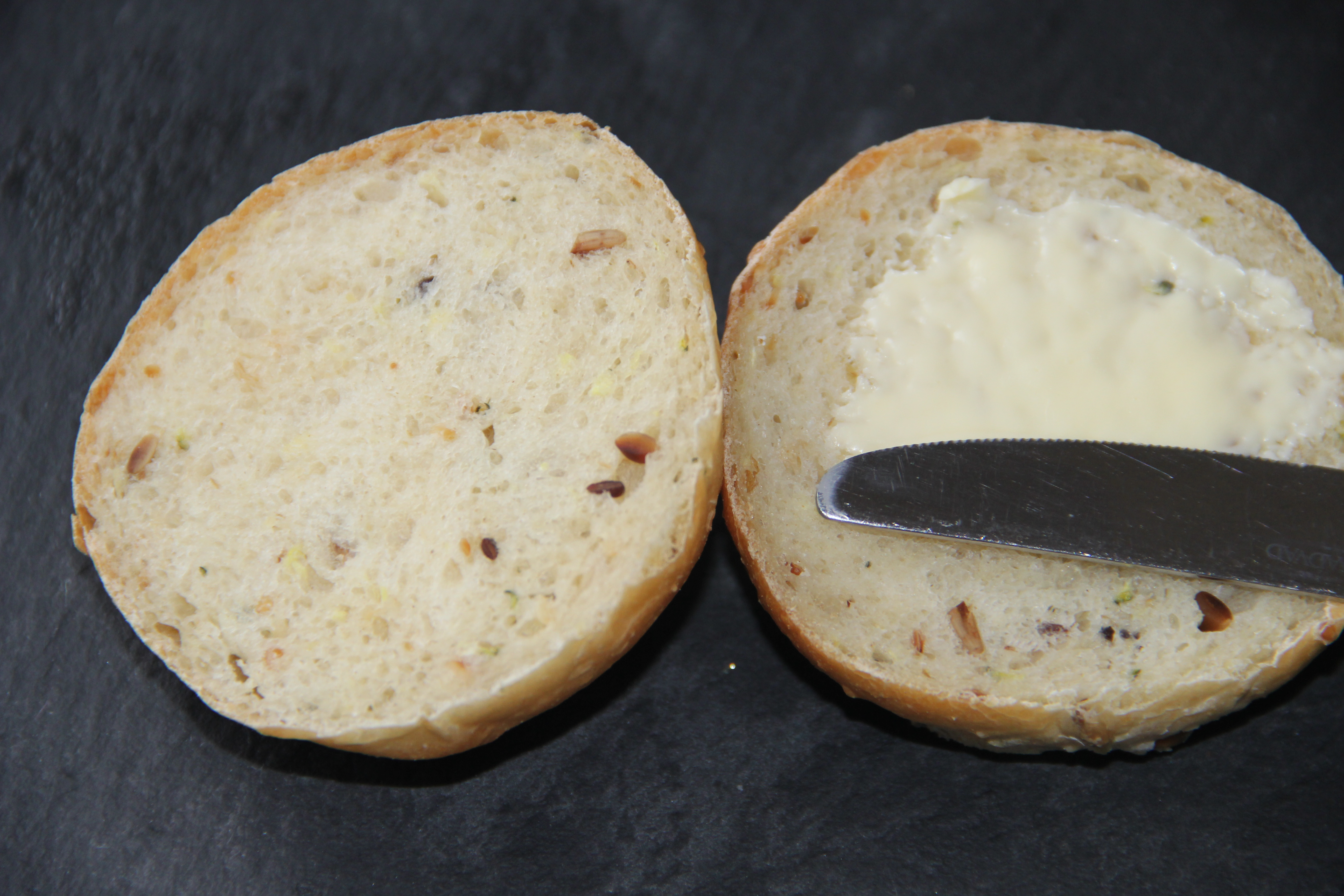 squashbolle med smør