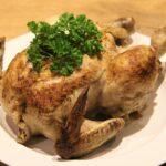 grydestegt kylling med persille