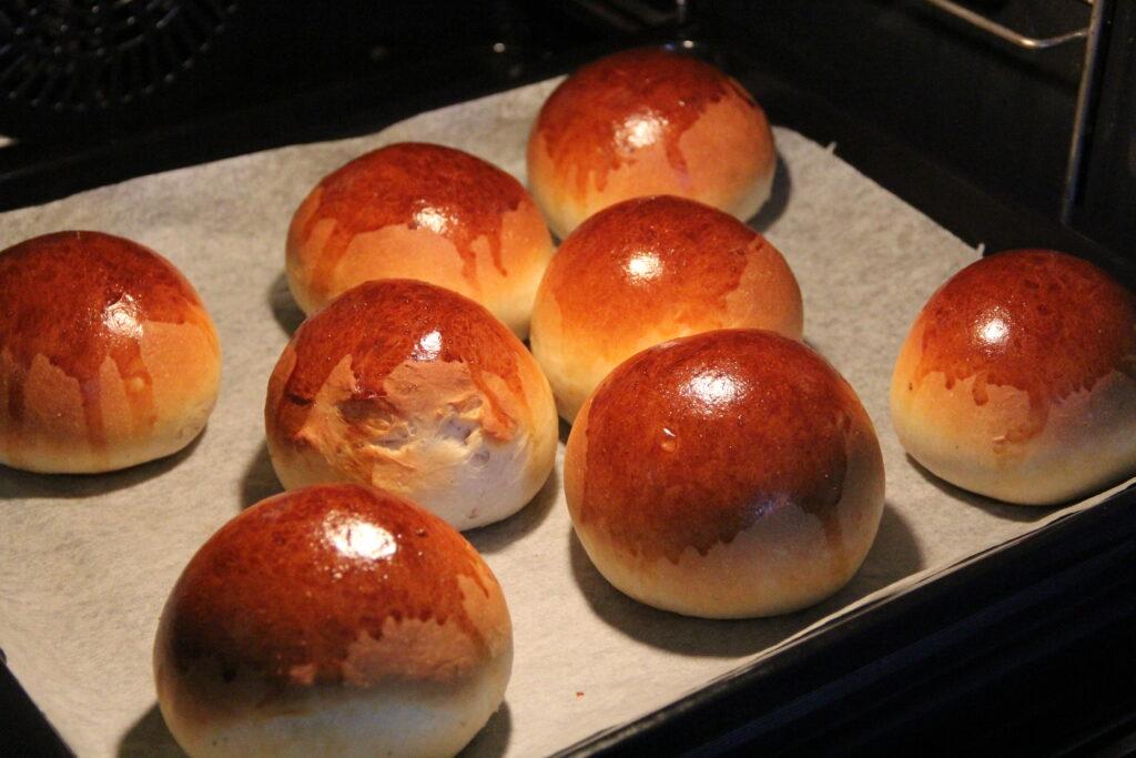 lune lækre teboller fra ovnen