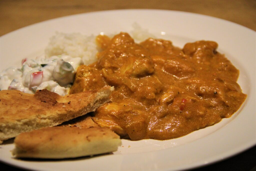 indisk chicken korma