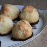 kokostoppe med chokoladebund